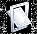 ventana pivotante